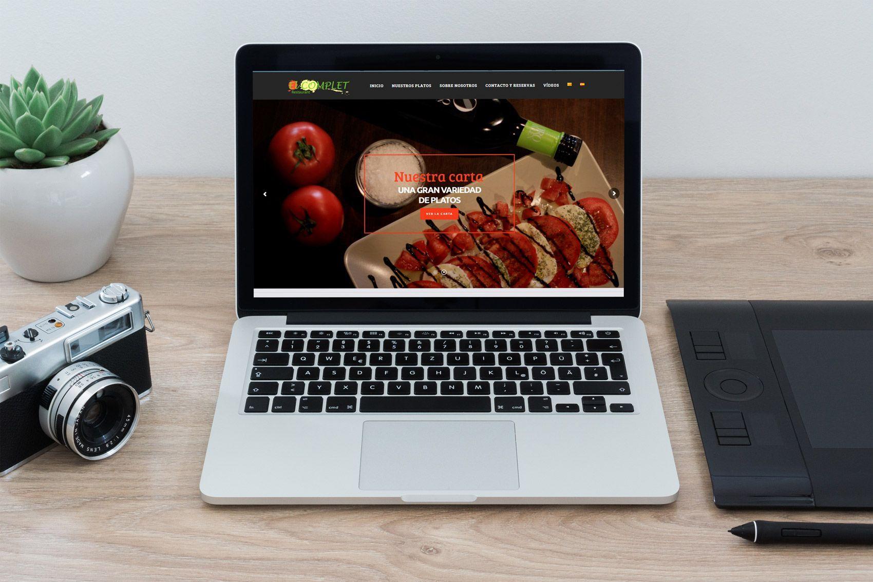 Páginas web para restaurantes en Tarragona