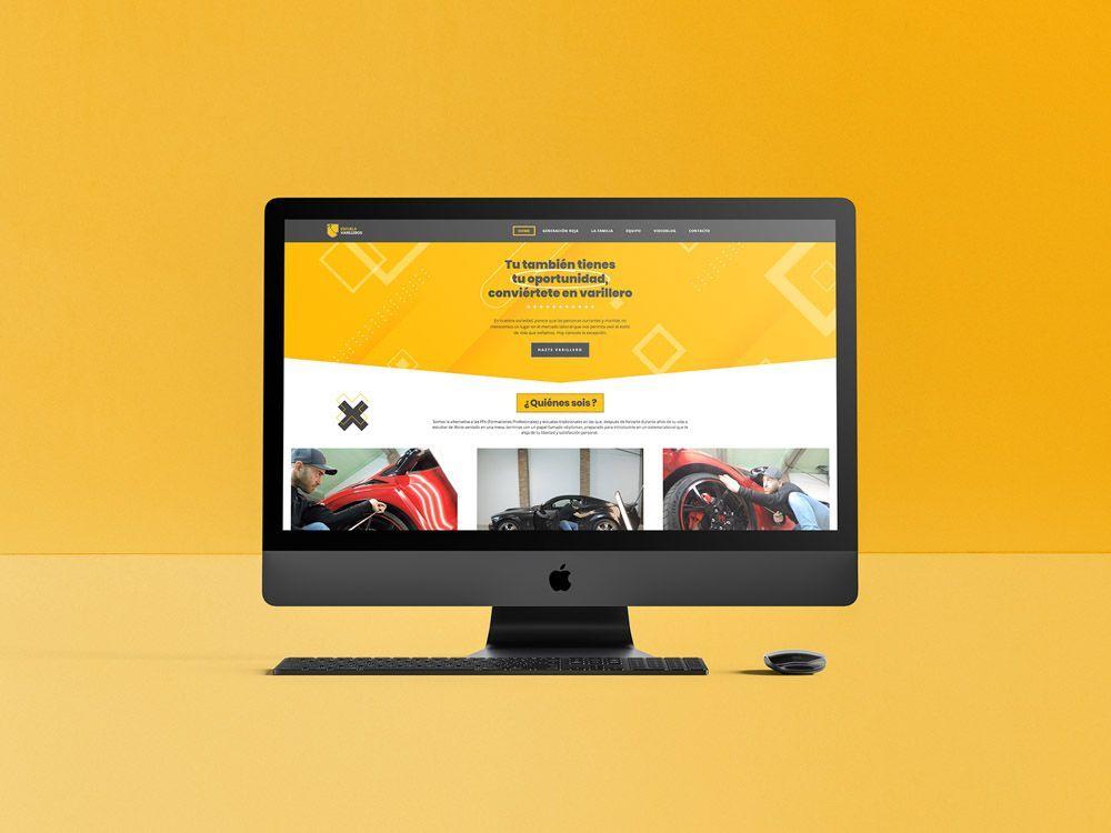 Diseños de páginas web modernas y atractivas