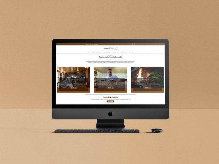 diseño de webs para restaurantes