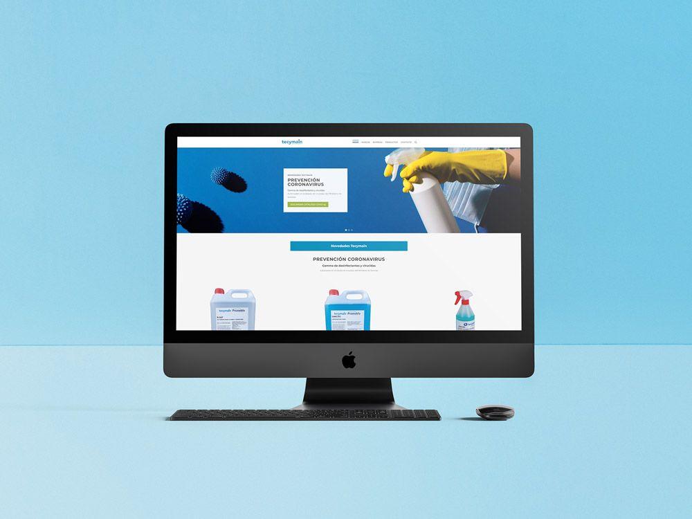 tienda online para empresa de limpieza